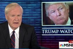 Matthews: This presidency resembles...