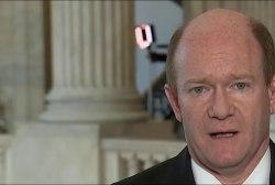 Sen. Coons: 'Not a good week for the Senate'
