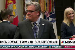White House story on Bannon move perplexes