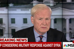 Trump considering military response to Syria