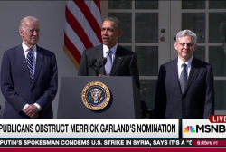 GOP sets Garland precedent with Gorsuch vote