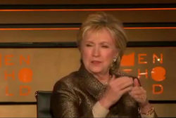 Clinton opens up at Women in the World summit