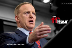 Can Sean Spicer keep his job after...