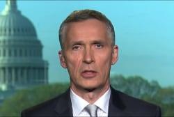 NATO head: Trump believes in a strong NATO