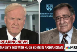 Leon Panetta: It's not the President's...