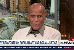 Harry Belafonte on 60+ years on social...