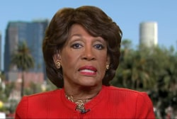 Maxine Waters: I Didn't Call For Trump...