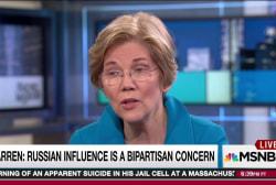 Warren: Turn heat up on Trump Russia case