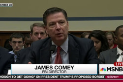 2016 acts undercut faith in Comey Trump probe