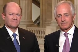 Sens. Corker and Coons: America Has Moral...