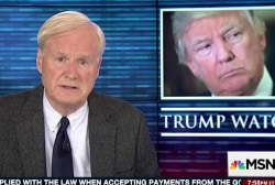 Matthews: I want Trump to genuflect to the...