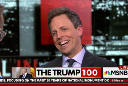 Seth Meyers on Trump's first 100 days