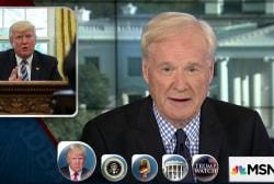 Matthews: Trump brags but he doesn't...
