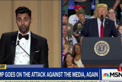 Trump skips WHCD roast for PA pep rally