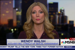 O'Reilly accuser Wendy Walsh describes...
