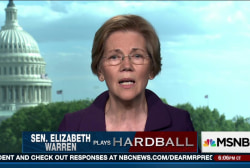 Warren: I just go out and speak from the...