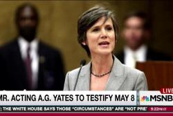 Yates testimony to refute White House: report