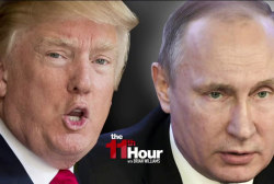 Trump & Putin share call ahead of Russia...
