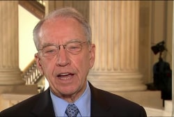 Grassley: Susan Rice's Excuse For Not...