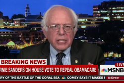 Sanders: House health care bill is an insult