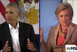 Obama and Clinton are back!