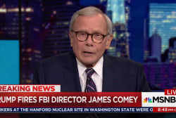 Trump uses Comey mistakes as cover for firing