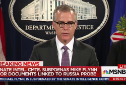 New FBI director McCabe has serious conflict