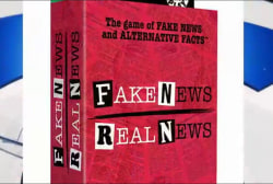 Playing the fake news card! (With friends)