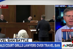 Analysis: Appeals Court Hears Travel Ban...