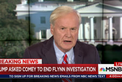 Comey Memo Says Trump Asked to Drop Flynn...