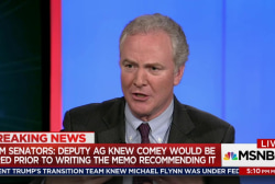 """Trump: """"No"""" did not ask Comey to end probe"""