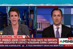 Reported Trump pressure on Comey improper