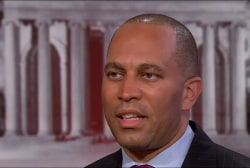 Jeffries: Trump's Mind Frame Fixed on...