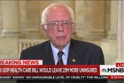 Sanders: CBO score on AHCA 'disaster' for...