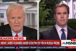 Kushner under FBI scrutiny in Russia Probe