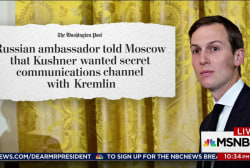 Kushner's reported try at a Kremlin chat...