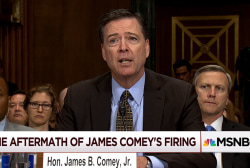 New developments in the firing of James Comey