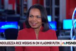 Condoleezza Rice: Putin focused on ...