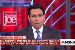 Top Israeli diplomat on Trump's Mideast trip