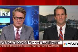 Top Democrat on the Trump money trail