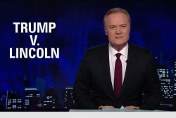 Lawrence on what Trump's Civil War...