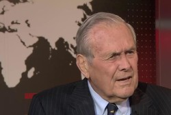 Rumsfeld: Putin Shouldn't Be Encouraged to...