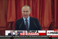 Putin says Russians might have been behind...