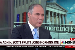 Scott Pruitt: Paris put US at an economic...