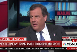 Christie: Trump's comments to Comey were ...