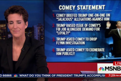 Four key points in Comey's opening statement