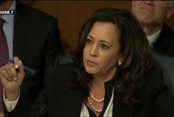 Senator Kamala Harris persists again