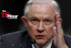Jeff Sessions changing his story on...