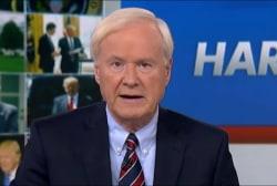 Matthews: Trump has a very short fuse