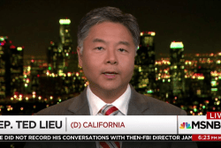Rep. Ted Lieu: Trump witness tampering on TV